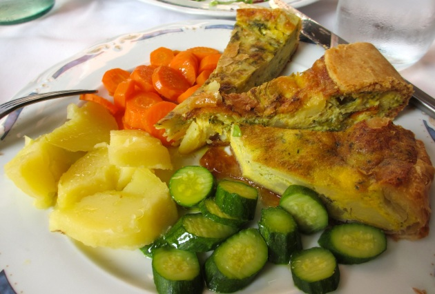 pie with zucchini