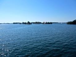 Marine blue waters.