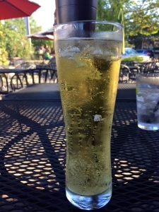 Cider refresher at Sacketts Harbor Brewing Company