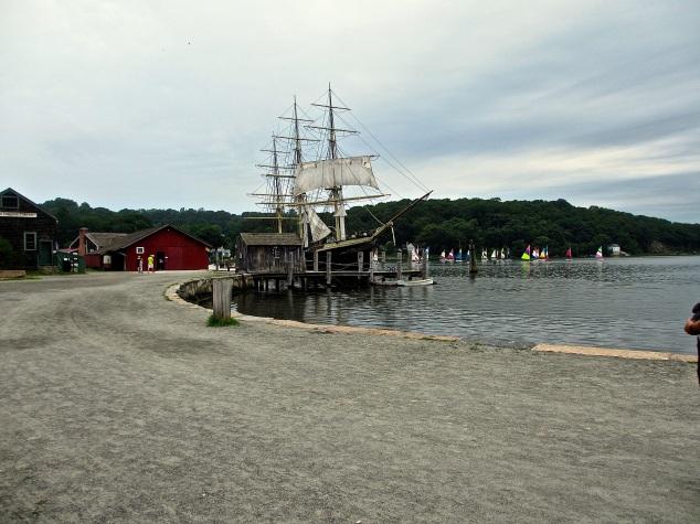 Mystic schooner