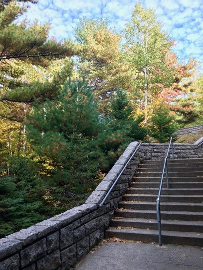 Stairway to heaven...Acadia National Park.