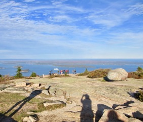 Shadows on Cadillac Mountain