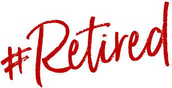Hashtag Retired logo